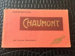 CARNET DE 20 CARTES DETACHABLES DE CHAUMONT - Chaumont