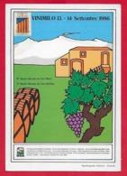 CARTOLINA NV ITALIA - VINIMILO 1986 - Mostra Mercato Dei Vini Milesi E Dell'Etna - 10 X 15 - Kirmes
