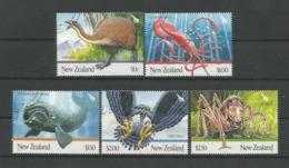 New Zealand 2009 Giant Fauna Y.T. 2477/2481 (0) - Gebraucht