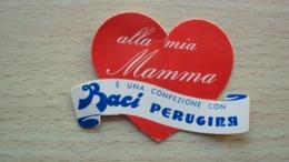 PUBBLICITà BACI PERUGINA CUORE ALLA MIA MAMMA - Other Collections