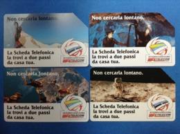 ITALIA SCHEDA TELEFONICA TELECOM USATA PHONE CARD USED NON CERCARLA LONTANO - Italia
