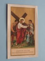 ACHTSTE STATIE Jezus Troost De Weenende Vrouwen ( B. Kühlen, M. Gladbach ) Achterzijde 7de Statie / Gebed ! - Religion & Esotérisme