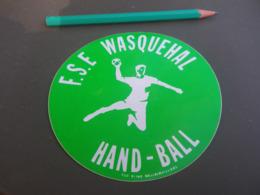 Autocollant - Ville - WASQUEHAL HANDBALL - Stickers