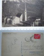 PIEVE DI ZOLDO ( BELLUNO) IL TEMPIO VG 1931? ROMA - Belluno