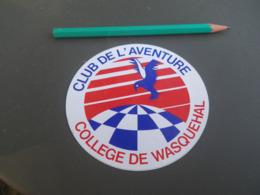 Autocollant - Ville - WASQUEHAL COLLEGE - Stickers