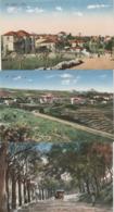 6 CPA COULEUR:MT LIBAN ALEY ET AIN SAIDÉ,ALEY LA GARE,ANCIENNE VOITURE BOULEVARD,VUES - Lebanon