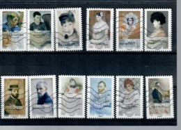 Yt AA 1258-2 A 1269 Normandie Impressionniste-serie Complete - Luchtpost