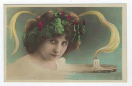Femme Et Bougie   - Photomontage  - Surréalisme - Femmes