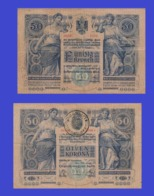 Romania 50 Kronen 1902 - Rumania
