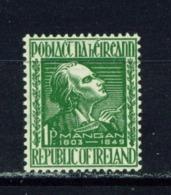 IRELAND  -  1949 James Mangan 1d Unmounted/Never Hinged Mint - 1937-1949 Éire