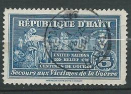 Haiti - Timbre De Bienfaisance   - Yvert N° 3 Oblitéré     -   Ava 27711 - Haiti