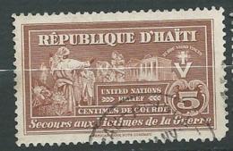 Haiti - Timbre De Bienfaisance   - Yvert N° 6 Oblitéré     -   Ava 27712 - Haiti