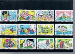 Yt AA 1288-1 A 1299-sous Le Soleil-serie Complete - Luchtpost