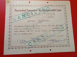 "S. A. "" THE LIMA GOLF CLUB "" - Deportes"