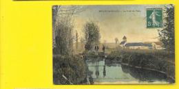 NESLES La VALLEE Colorisée Le Pont De Flelu (Fleck) Val D'Oise (95) - Nesles-la-Vallée