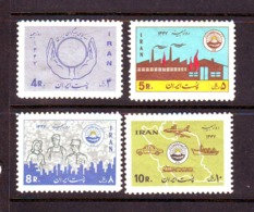 Iran 1968  SC# 1495-98  Set MNH - Iran