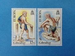 1981 GIBILTERRA GIBRALTAR FRANCOBOLLI NUOVI STAMPS NEW MNH** Europa Cept - Gibilterra
