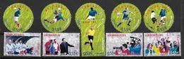 France 2006 N° 3906/3915 Neufs Coupe Du Monde De Football Sous Faciale - France