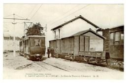 33 - T50295CPA - SAINT ST ANDRE DE CUBZAC - La Gare Du Tramway Libournais - Parfait état - GIRONDE - France