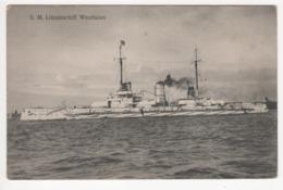 ° KRIEGSMARINE ° S.M. LINIENSCHIFF WESTFALEN ° - Guerra