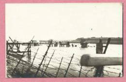 Belgique - ZEEBRUGGE - Carte Photo - Foto - Zerstörte Brücke - Pont Détruit - Guerre 14/18 - Zeebrugge