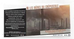 Etiquette De Bière Du Crépuscule  -  English Porter  - Saint Julien Sur Reyssouze  (01) - Bière
