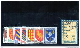 FRANCE N° 999/1005** - Francia