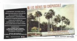 Etiquette De Bière Du Crépuscule  -  Le Prix Du Voyage  - Saint Julien Sur Reyssouze  (01) - Bière