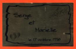 étiquette De Champagne Brut Mariage Serge Et Marielle 17 Octobre 1998 - 75 Cl - Champagne