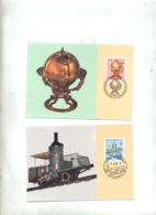 Carte Maximum 1983 Europa - Cartoline Maximum
