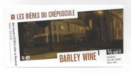 Etiquette De Bière Du Crépuscule  -  Barley Wine  - Saint Julien Sur Reyssouze  (01) - Bière