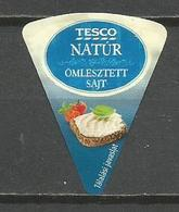 Hungary Hongrie Etiquette Fromage Portions étiquette Cheese Label  Queso Kase Formaggio Sajt - Kaas