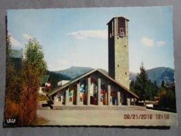 CP 74commune De PASSY  LE PLATEAU D'ASSY  - Façade De L'église Notre Dame De Toute Grâce   -  Vers 1970 - Passy
