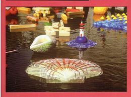 CHARTRES 1997 COLLEGE NOTRE DAME PROJET ARTS PLASTIQUES OBJETS FLOTTANTS COQUILLE SAINT JACQUES CARTE EN TRES BON ETAT - Chartres