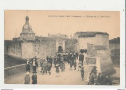 29 CONCARNEAU L ENTREE DE LA VILLE CLOSE CPA BON ETAT - Concarneau