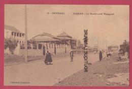SENEGAL---DAKAR--Le Boulevard National--animé - Senegal