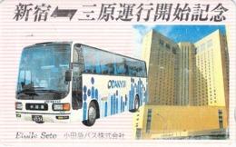 AUTOCAR - BUS - AUTOBUS - CAR -- TELECARTE JAPON - Cars