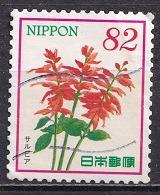 Japan 2015 - Hospitality Flowers Series 3 (82 Yen) - Usados