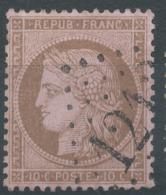 Lot N°50913  N°58, Oblit GC 1212 Creil, Oise (58) - 1871-1875 Cérès