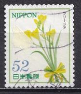 Japan 2015 - Hospitality Flowers Series 4 (52 Yen) - Usados