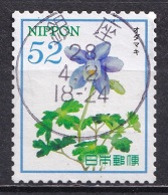 Japan 2016 - Hospitality Flowers Series 5 (52 Yen) - Usados