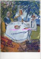 REF 426 : CPM Charlotte Salomon Jewish Historical Museum - Peintures & Tableaux