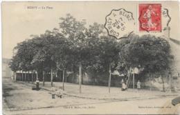 D51 - MERFY - LA PLACE - Femme Avec Un Panier Près D'un Homme Sur Une échelle-Enfants - France
