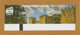 Ticket D'entrée - LISBONNE . Château Saint Georges - Castelo St. Jorge  - 2 Scannes. Recto & Verso - Tickets D'entrée