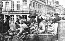 Tournai - Carte Photo Messiaen - Marché 1900 - établissement Les Capart-Favier - Tournai