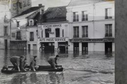 Châtellerault 86100 Très Belle Photo Larmignat Crue 1962 008CP03 - Plaatsen