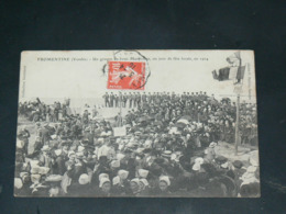 LA BARRE DES MONTS / ARDT SABLES D OLONNE    1904 /  FROMENTINE   VUE FETE LOCALE   ....  EDITEUR - France