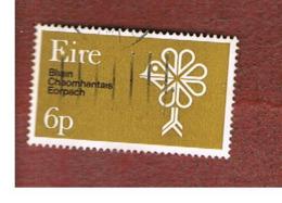 IRLANDA (IRELAND) -  SG 274  -    1970  EUROPEAN CONSERVATION YEAR     - USED - Usati