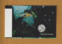 Ticket D'entrée - LISBONNE . Océanarium . Océanario De Lisbonne  - 2 Scannes. Recto & Verso - Tickets D'entrée