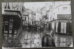 Châtellerault 86100 Photo Avec Tampon Larmignat Au Dos Repro Crue 1913 009CP03 - Lieux
